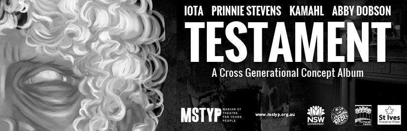 Testament - a Cross Generational Concept Album Performed Live